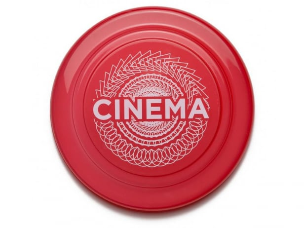 "Cinema Wheel Co. ""Radial"" Frisbee"