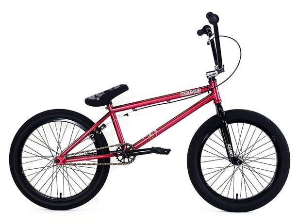 "Colony Bikes ""Endeavour"" 2018 BMX Bike - Metal Red/Polished"