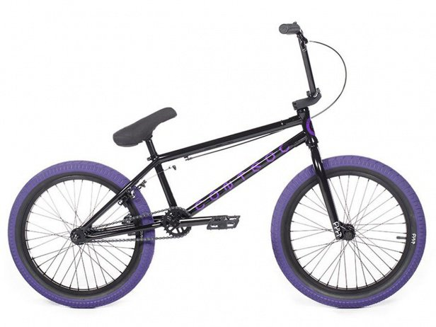 "Cult ""Control A"" 2018 BMX Rad - Black/Purple"