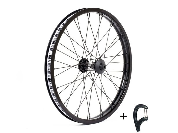"Cult ""Match V2 X Crew"" Front Wheel + Spoke Wrench"