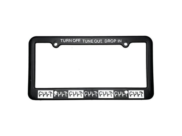 "Cult ""Drop In"" Plate Frame (for US Plates only)"