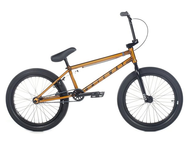 "Cult ""Gateway B"" 2019 BMX Bike - Trans Gold"