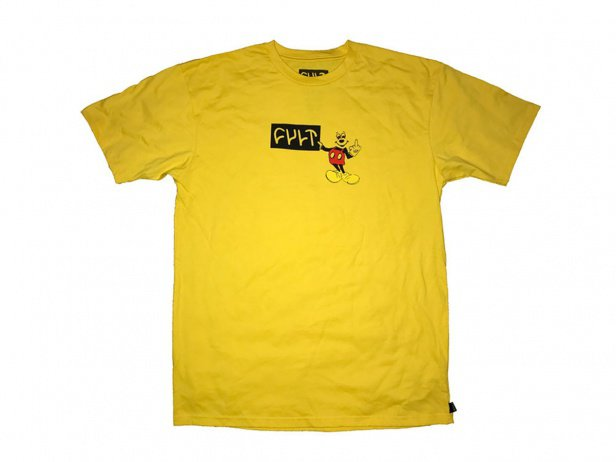 "Cult ""Hey You"" T-Shirt - Yellow"