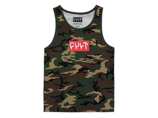"Cult ""Logo 18"" Tank Top - Camo"