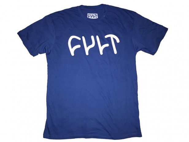 "Cult ""Logo"" T-Shirt - Royal Blue"