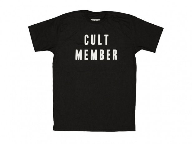 "Cult ""Member"" T-Shirt - Black"