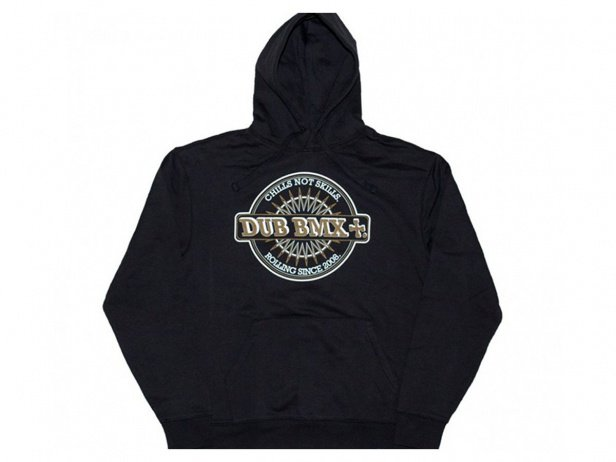"DUB BMX ""Chills"" Hooded Pullover - Black"