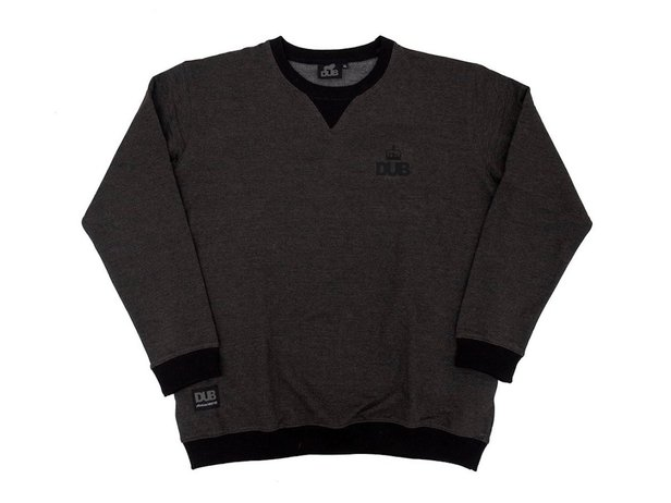 "DUB BMX ""Kensington"" Sweater Pullover - Dark Grey"