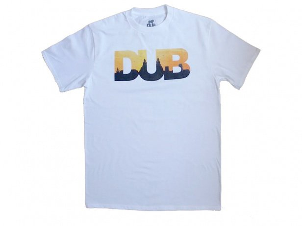 "DUB BMX ""Skyline"" T-Shirt - White"