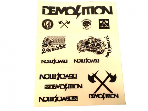 Demolition Stickerset
