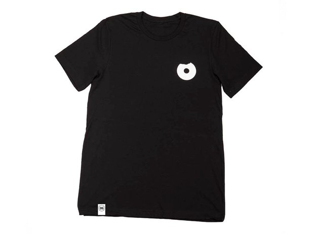 "Dig BMX Magazine ""No Donuts Lies "" T-Shirt - Black"