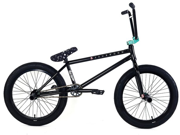 "Division BMX ""Spurwood"" 2018 BMX Bike - ED Black/Matte Teal 