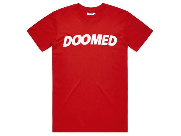 "Doomed Brand ""Archie"" T-Shirt - Red"