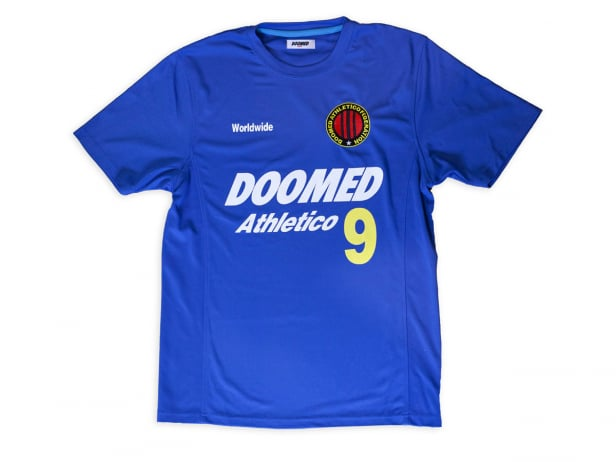 "Doomed Brand ""Athletico 9"" Trikot Shirt - Blue"