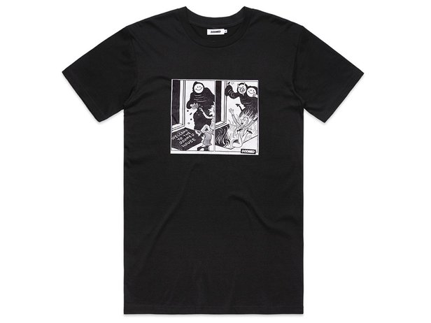 "Doomed Brand ""Doomed House"" T-Shirt - Black"