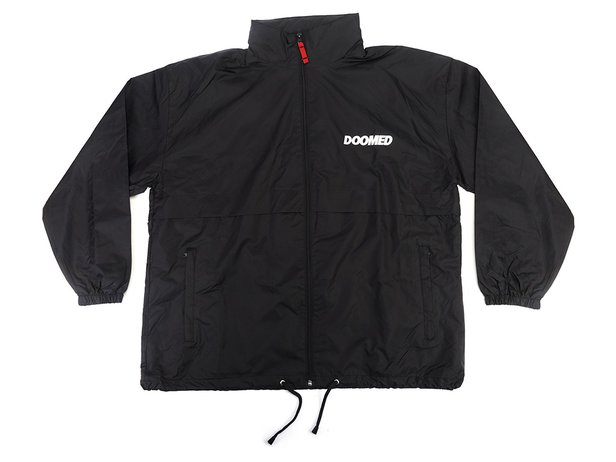 "Doomed Brand ""AIR"" Windbreaker Jacke - Black"