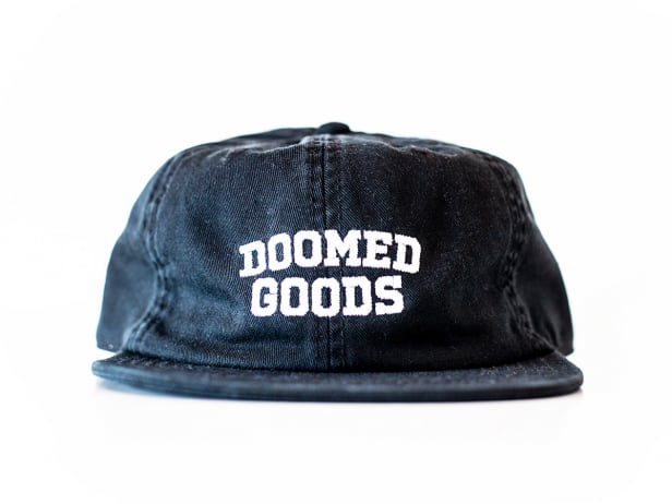 "Doomed Brand ""Goods"" Kappe - Black"