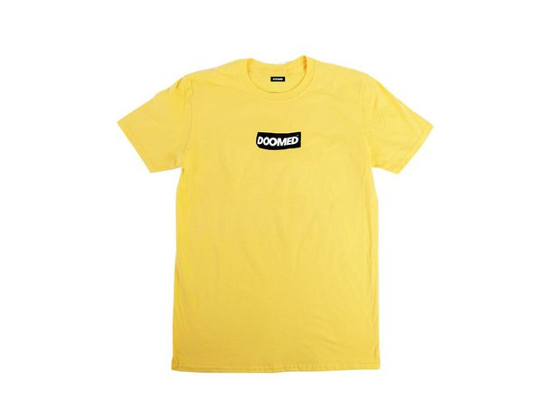 "Doomed Brand ""Sticky"" T-Shirt - Yellow"