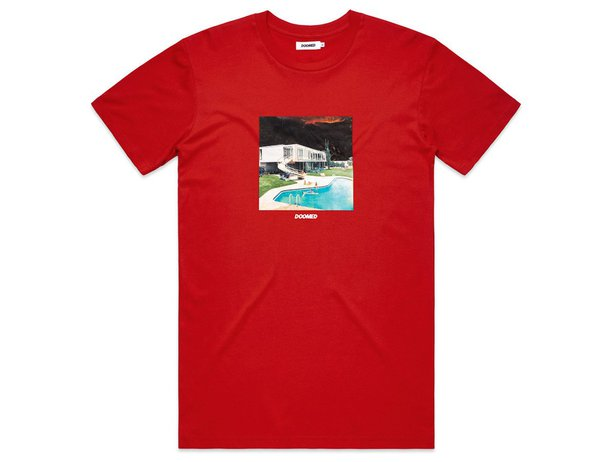 "Doomed Brand ""Summer"" T-Shirt - Red"