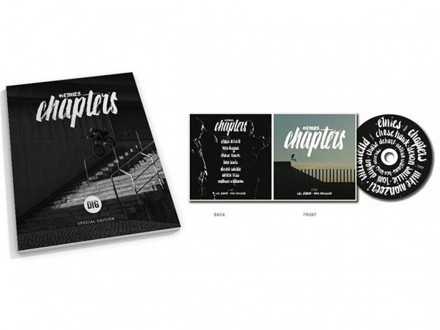 "Etnies ""Chapters Deluxe"" DVD Video + Book"