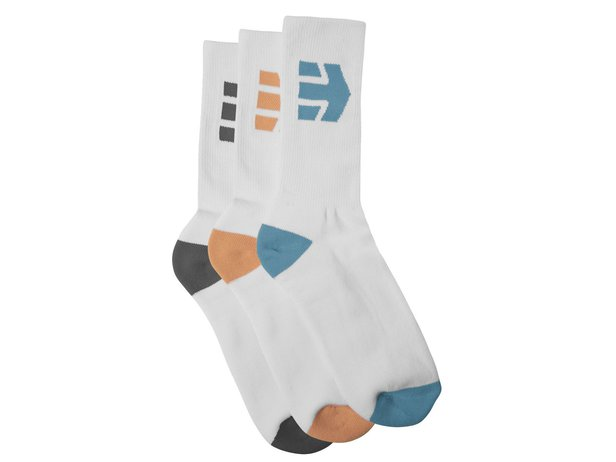 "Etnies ""Direct 3 Pack"" Socken (3 Paar) - White"
