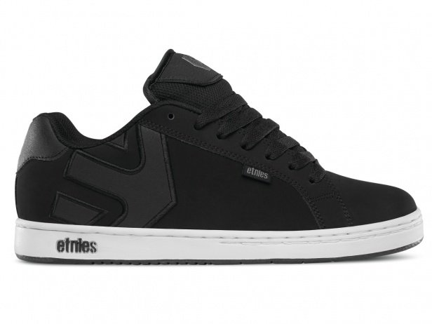 "Etnies ""Fader"" Shoes - Black/White/Silver"