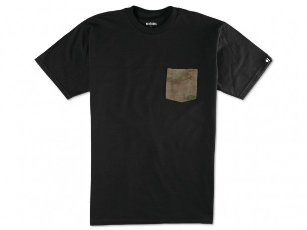 "Etnies ""Flow Camo Pocket"" T-Shirt - Black"