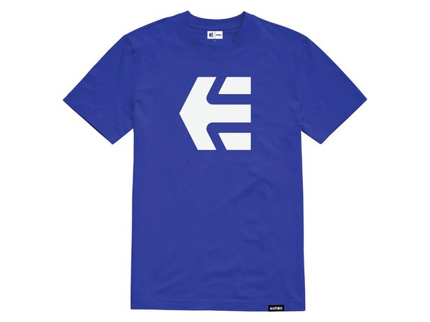 "Etnies ""Icon Tee"" T-Shirt - Royal Blue"