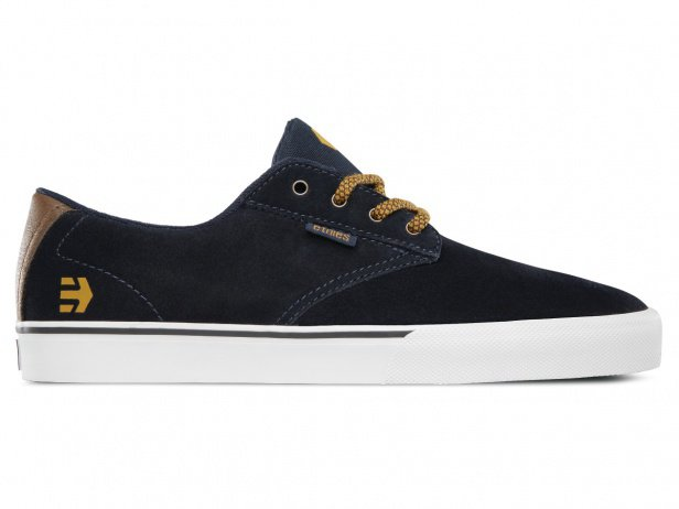 "Etnies ""Jameson Vulc"" Shoes - Navy/Brown/White"