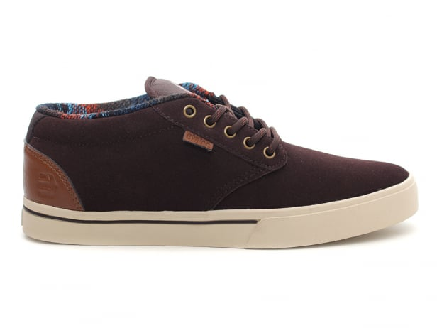 "Etnies ""Jameson Mid"" Shoes - Brown/Tan"