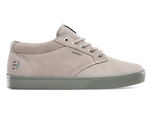 "Etnies ""Jameson Mid Crank"" Shoes - Tan/Green (Brandon Semenuk)"