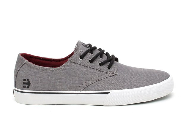 "Etnies ""Jameson Vulc LS"" Shoes - Grey"