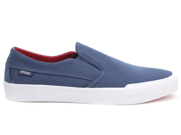 "Etnies ""Langston"" Shoes - Navy/Red/White"