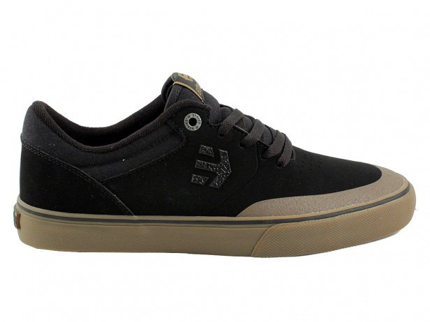 "Etnies ""Marana Vulc"" Shoes - Black/Gum/Dark Grey"