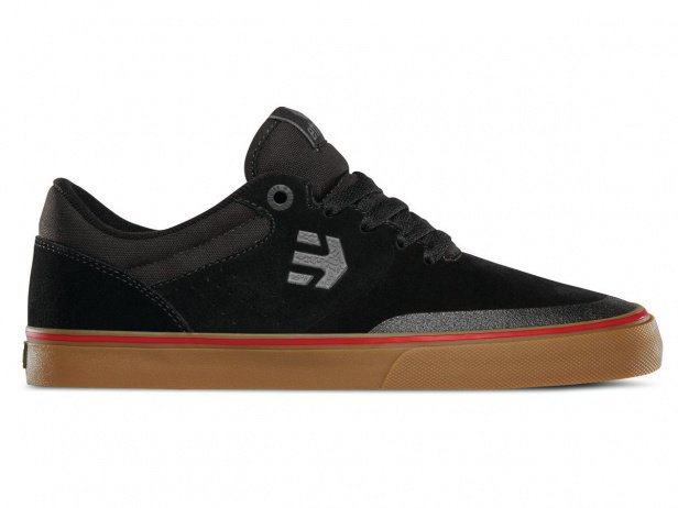 "Etnies ""Marana Vulc"" Shoes - Black/Gum/Grey (Aaron Ross)"