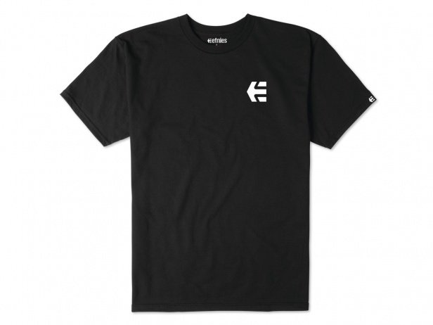 "Etnies ""Mini Icon"" T-Shirt - Black/White"