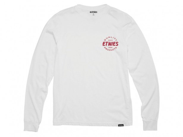 "Etnies ""Quality Control"" Longsleeve - White"