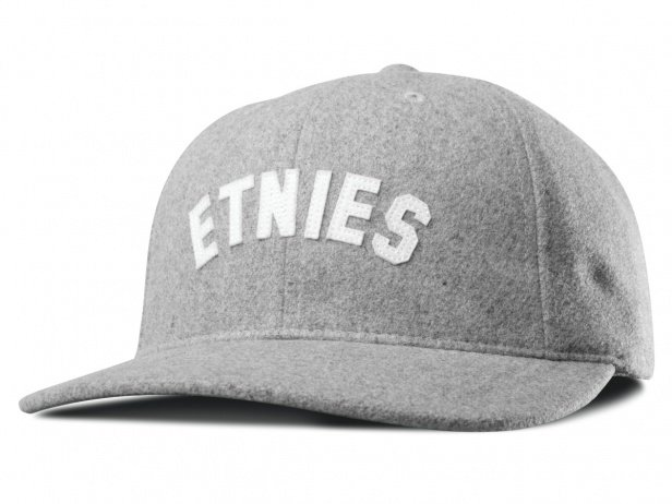 "Etnies ""Sandlot Strapback"" Cap - Grey/Heather"