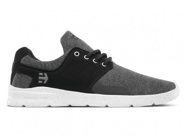 "Etnies ""Scout XT"" Shoes - Black/Grey/Silver"