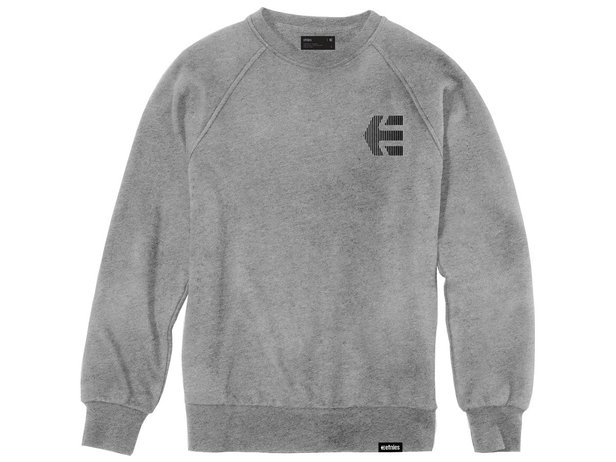 "Etnies ""Team Crew"" Pullover - Grey/Heather"