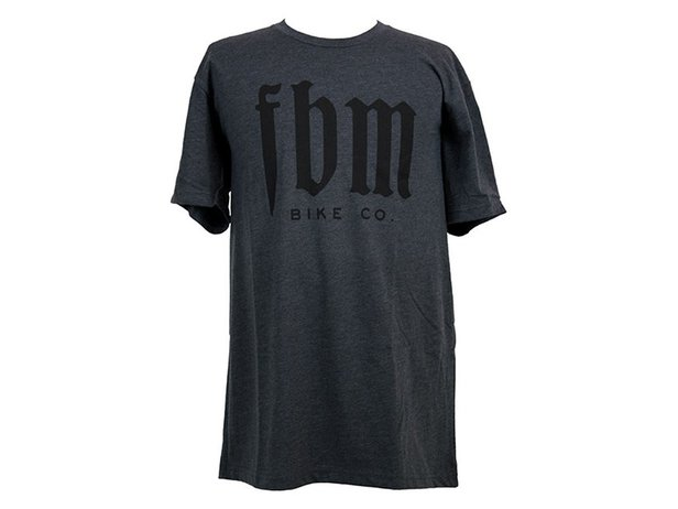 "FBM ""Script"" T-Shirt - Heather Charcoal"