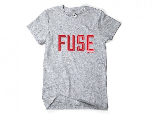 "FUSE ""Revolt"" T-Shirt - Grey"