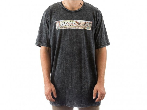 "Fiend BMX ""Morrow Freighter"" T-Shirt - Acid Black"