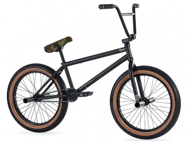 "Fiend BMX ""Type A"" 2018 BMX Bike - Matt Trans Black"