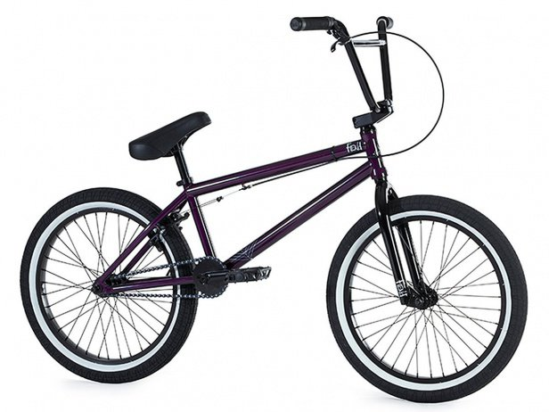 "Fiend BMX ""Type O"" 2018 BMX Rad - Gloss Trans Purple"