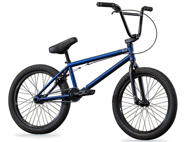 "Fiend BMX ""Type O-"" 2018 BMX Bike - Matt Blue"