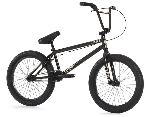 "Fiend BMX ""Type O-"" 2020 BMX Bike - Gloss Black Chrome"