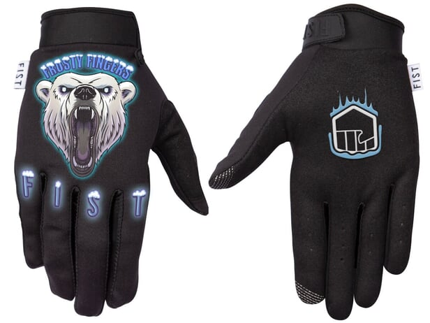 "Fist Handwear ""Frosty Fingers Polar Bear"" Gloves"