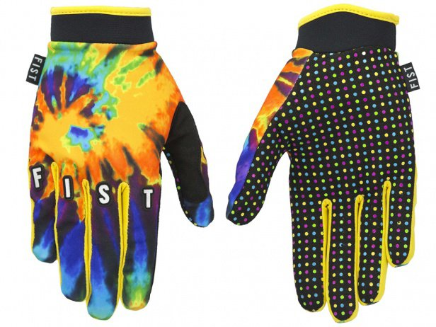 "Fist Handwear ""Tie Dye Orange"" Gloves"