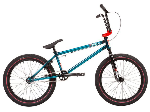 "Fit Bike Co. ""Series One"" 2020 BMX Bike - Trans Teal"